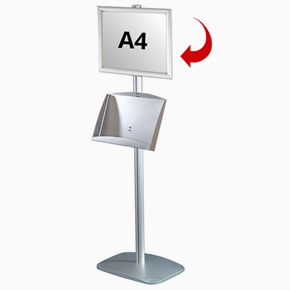 Mini Multistand 5 - Single sided A4 snap frame