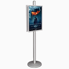 Mini Multistand 10- Double sided 2x50x70 snap frame